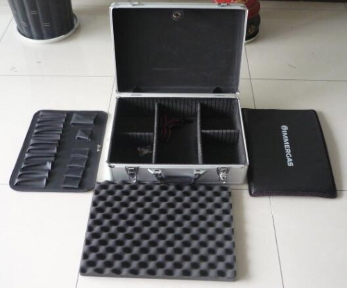 Storage Case With Tools Board , Foam And Dividers