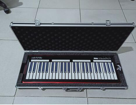 aluminum Keyboard Professional Flight Case for Electronic Organ